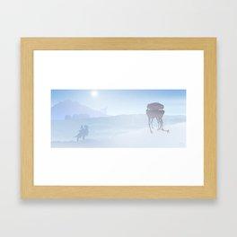 Planetscape #2: Echo Base Framed Art Print
