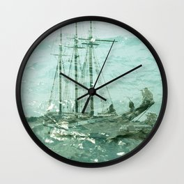 so we beat on, boats against the current... Wall Clock