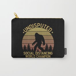 Bigfoot undisputed social distancing champion Carry-All Pouch