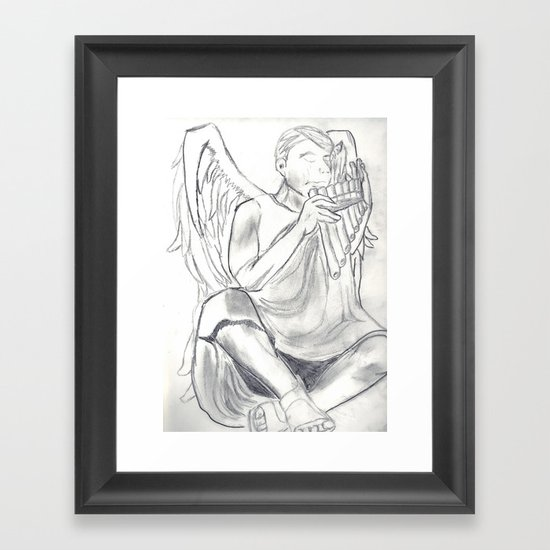 The Piper Framed Art Print