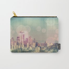 Dreamy Seattle Skyline Carry-All Pouch