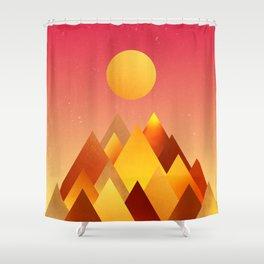 It's always hot somewhere Shower Curtain