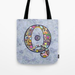 The Letter Q Tote Bag