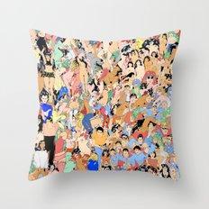 Accumulation Throw Pillow