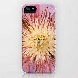 Sugar-Pink Flower Design iPhone Case