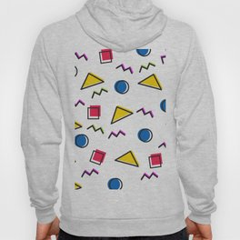 1980s retro pattern (Version 2) Hoody