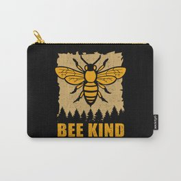 Bee Kind - Beekeepers Beekeeping Honey Carry-All Pouch