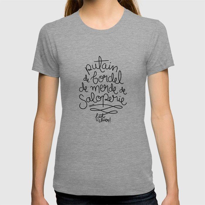 Sacres France - Black T-shirt