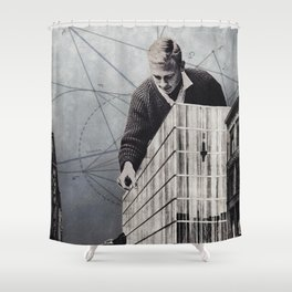 Extension Shower Curtain