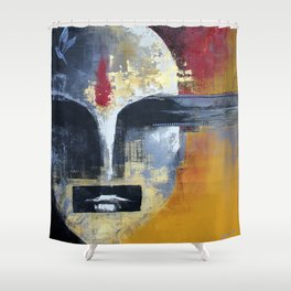 Glimpses from the Terabytical Depths of an Uncharted Mind Shower Curtain