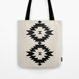 Southwestern Minimalism - Black Tote Bag