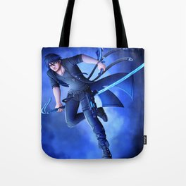 The Silent Blades Tote Bag