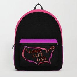 Upper Left, USA - Warm Hues Backpack