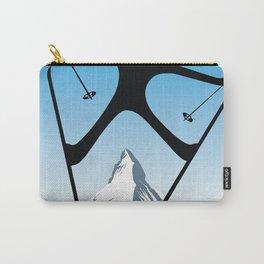 Zermatt,Valais,Suisse,Ski Poster Carry-All Pouch