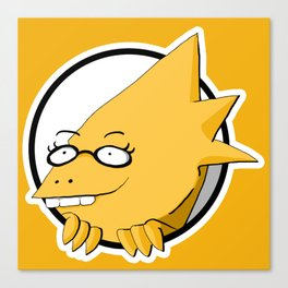 Alphys Canvas Print