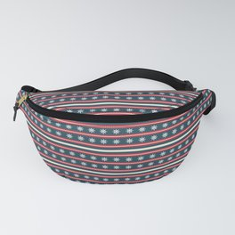 Anchors Away Blue Fanny Pack
