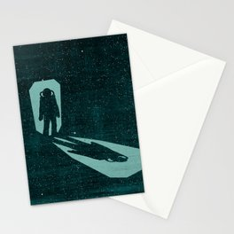 A door through space Stationery Cards