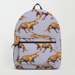 lilac tiger pattern Backpack
