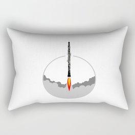 Oboe rocket Rectangular Pillow