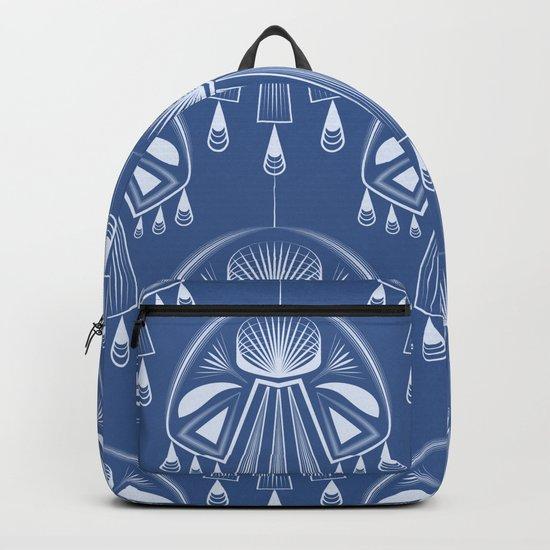 Light dreams. Blue Deco. No. 1. Backpack