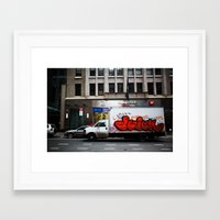 truck Framed Art Prints featuring Truck by ArpanDholi