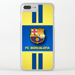 fc barcelona Clear iPhone Case