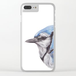 Blue Jay - CYANOCITTA CISTATA   Watercolour   Painting   Animal   Nature   Art Clear iPhone Case