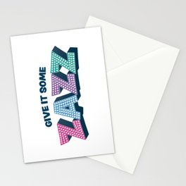 Give It Some Zazz - The Prom Musical Stationery Cards