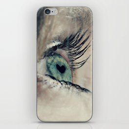 The love in her eyes iPhone Skin