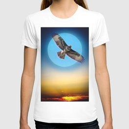 Moments - Full Moon - Sunset T-shirt