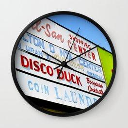Disco Duck Wall Clock