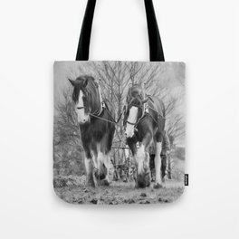 Working Horses Tote Bag