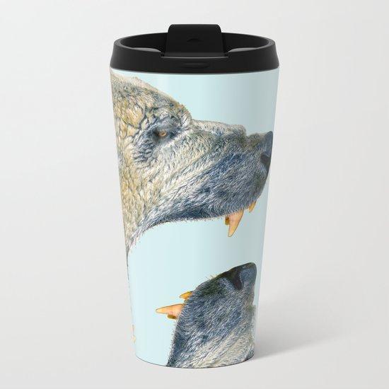 Polar Bear Metal Travel Mug
