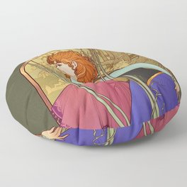 For the First Time in Forever Floor Pillow