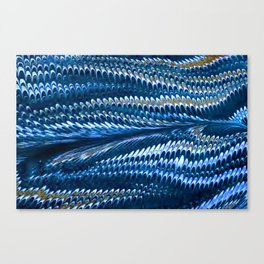 Splendid Blue Lizard Lover Canvas Print