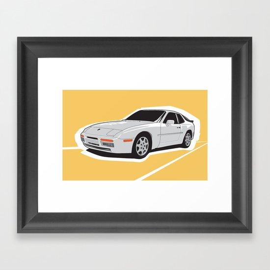 Turbo Driver Framed Art Print