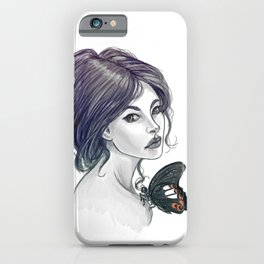 The Red Helen iPhone Case