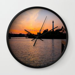 The lighthouse. Wall Clock