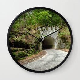 Tiny Tunnel Wall Clock