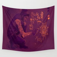 zayn Wall Tapestries featuring Zayn by RockitRocket