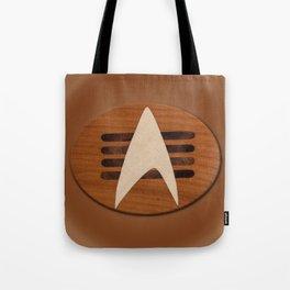 st original badge of cherry wood sci-fi Tote Bag