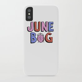 June Bug iPhone Case