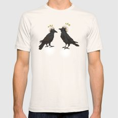 ravens SMALL Natural Mens Fitted Tee