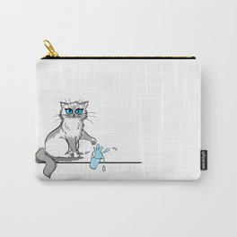 Cats are a**holes Carry-All Pouch