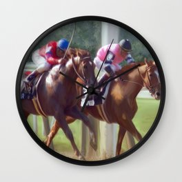 The Duel Wall Clock