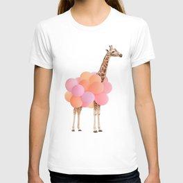 GIRAFFE PARTY T-shirt