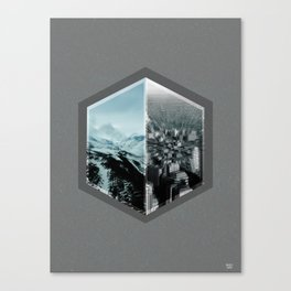 dont think twice  Canvas Print