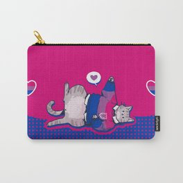 Pride Cats - Bisexual Pride Carry-All Pouch