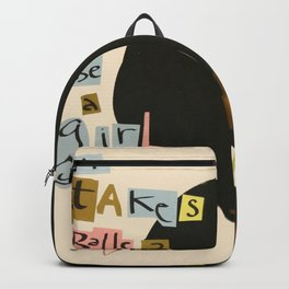 it takes balls 2 be a girl Backpack
