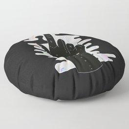 Libra - Zodiac Illustration Floor Pillow